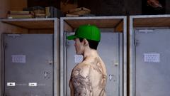 Baseball Cap Green Left