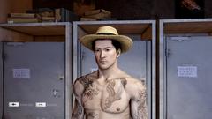 Panama Hat Front