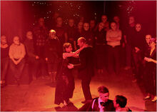 Duncan dance with Lady Mackbeth during the ball
