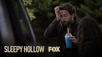 Ichabod Experiences His First Brain Freeze Season 4 Ep. 6 SLEEPY HOLLOW