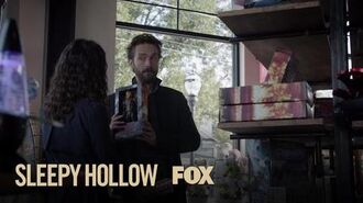 Ichabod Marvels At The Toys Of Modern Society Season 4 Ep. 7 SLEEPY HOLLOW