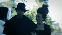 Ichabod and Katrina at Fredick's Manor