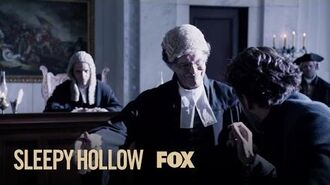 Ichabod Is Confronted By His Son Henry Season 4 Ep. 4 SLEEPY HOLLOW