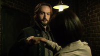Ichabod learns fistbumping