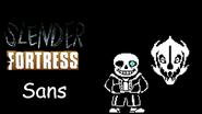 Slender Fortress - Sans (with Gaster Blaster)
