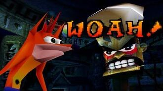 Woah! Original Crash Bandicoot™ Animation