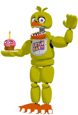 Unwithered chica