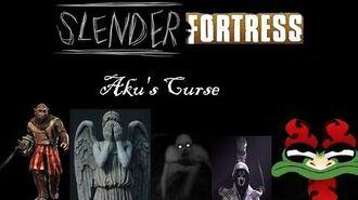 Slender Fortress run 185 Aku's Curse