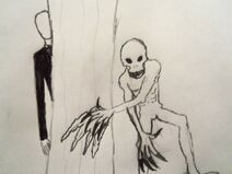 Slenderman and the rake by shadowbelmont38-d4p6wq0