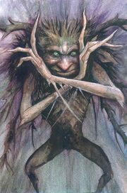 A Hobyah by Brian Froud