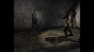 Silent hill 2 - Pyramid head Boss fight (HARD)