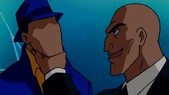 The Question Tries To Kill Lex Luthor