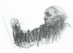 Kathe kollwitz - self portrait 1924