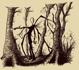 Slender man by crozierpickman-d5d9kqh