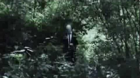 Slender Man caught on tape