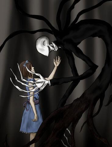 File:Slenderman and girl by ninjadragon3-d5jg696.jpg