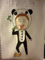Le Panda by Amy Uta