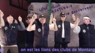 Les Lions de Montargis ORIGINAL VERSION