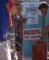 Teures Benzin