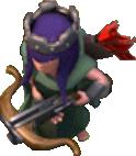 Bogenschützen-Königin 1-9