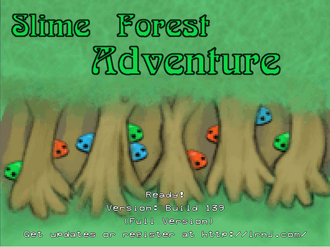 Slime Forest Title