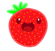 Strawberry slime