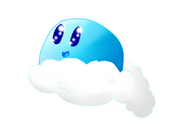 Cloud slime (drawn by Dancey)