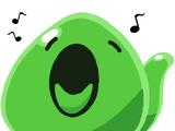 Singing slime