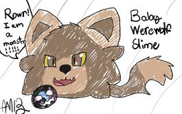 Baby Werewolf Slime