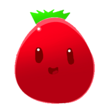 Strawberry Slime Scribble