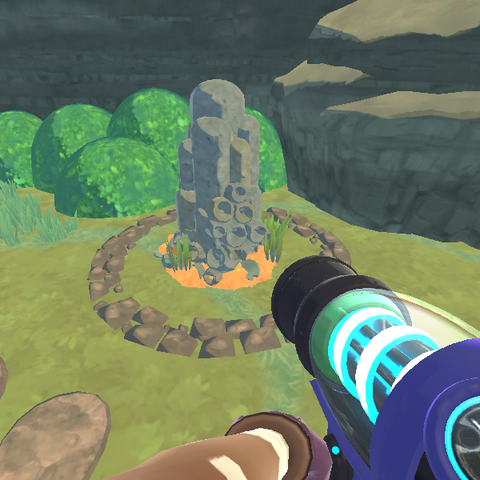 In-game render of the Wild Coral Columns.
