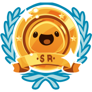 The icon shown when you get a Gold Achievement.