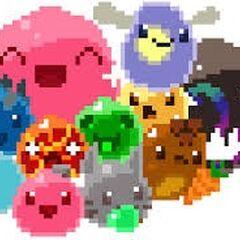 Pixels Slimes by SapphireSeahorse
