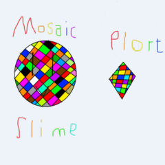 Idea for Mosaic Slime by CalimTheCrystalGem