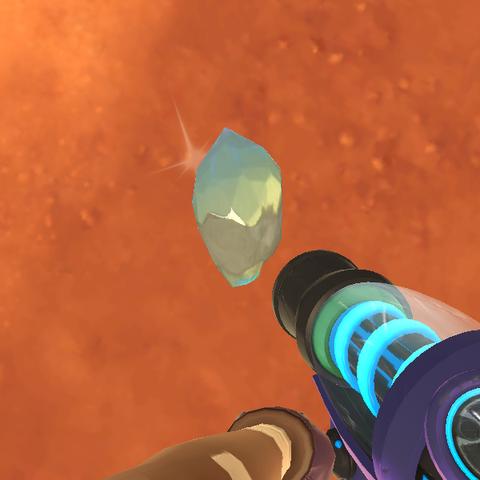 Diamante extraño dentro del juego.
