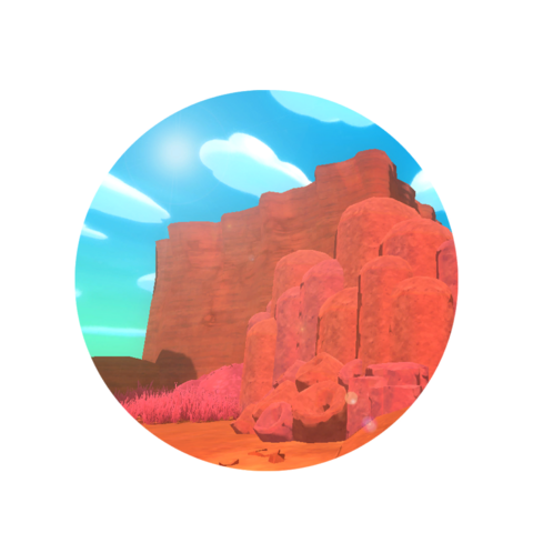 The Dry Reef's icon before 0.3.0