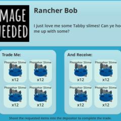 The Range Exchange's placeholder in Update 0.2.1