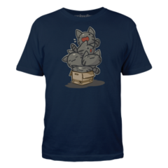 ♂ Tabby Stack T-Shirt.