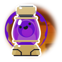 Lámpara Slime Violeta