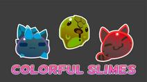 Colorful Slimes Mod (1)