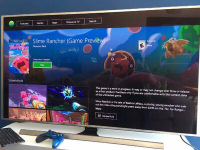 Slime Rancher Development Xbox One Announce