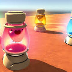 Four Slime Lamps