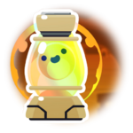 Butterscotch Slime Lamp