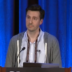 Nick at GDC in 2017