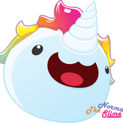 Unihorn Slime by TheNormalSlime