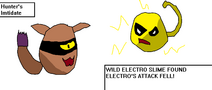 Electro v Hunter Battle