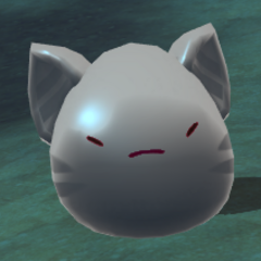An agitated Tabby Slime (in-game)