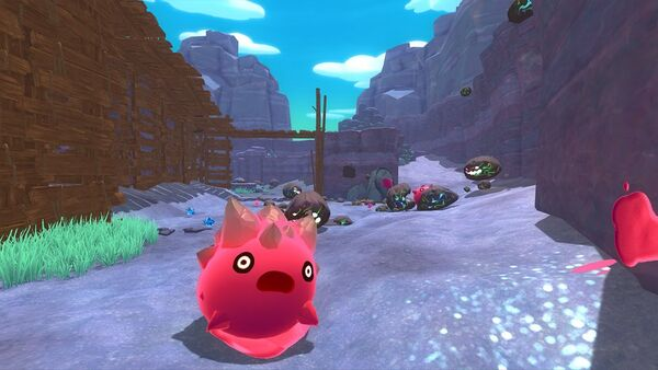 Slime Rancher development freaking out