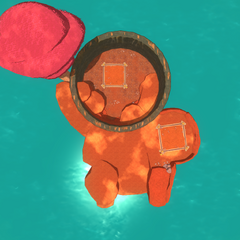 Aerial view of the Pit in 0.2.0.