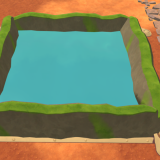 The Pond's appearence prior to Update 0.3.5